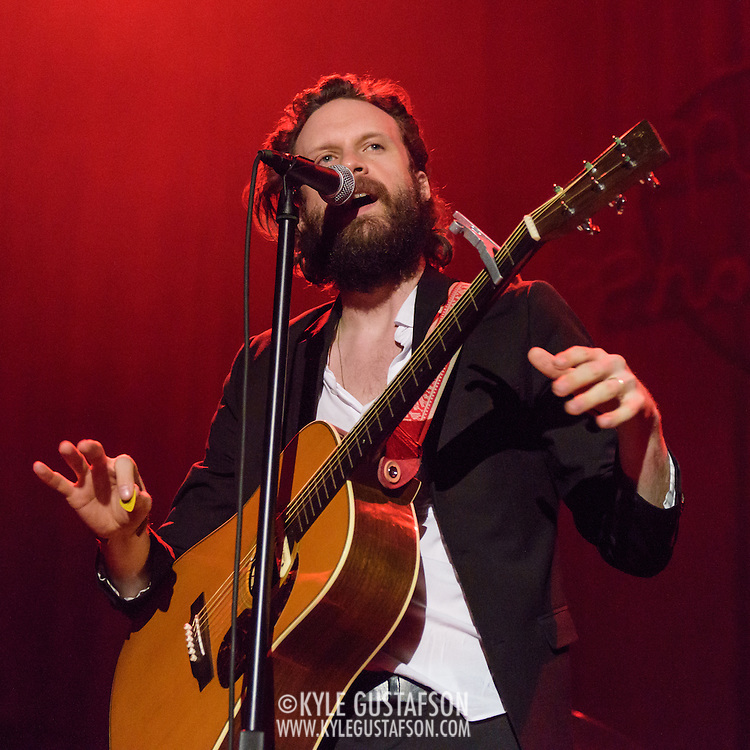 WASHINGTON, DC - March 28, 2015 - Rockville MD's Joshua Tillman, also known as Father John Misty, performs at the 9:30 Club in Washington, D.C. Tillman released I Love You, Honeybear,  his second solo album under the Father John Misty moniker, in February. (Photo by Kyle Gustafson / For The Washington Post)