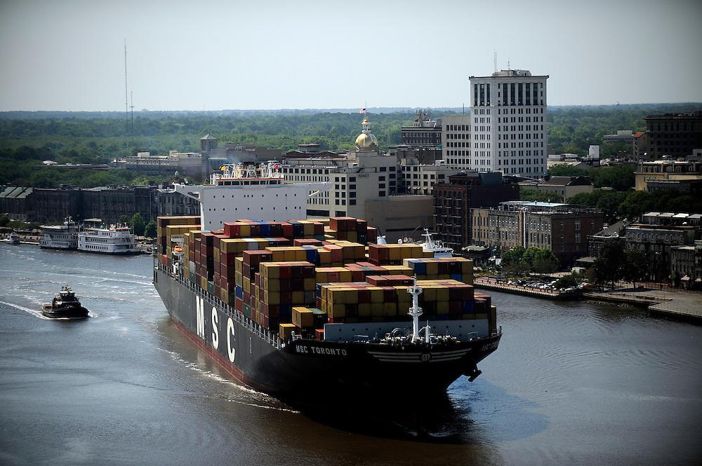 Georgia Ports Authority <br /> <br /> <br /> (GPA Photo/Stephen Morton)