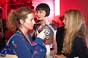JENNY DYSON; ERIN O'CONNOR; LAURA BAILEY, Tunnel of Love. Funfair party The Mending Broken Hearts appeal In aid of the British Heart Foundation. Victoria House, Bloomsbury. London. 17 May 2011. <br /> <br />  , -DO NOT ARCHIVE-© Copyright Photograph by Dafydd Jones. 248 Clapham Rd. London SW9 0PZ. Tel 0207 820 0771. www.dafjones.com.