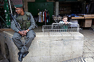 Daily life in east Jerusalem.