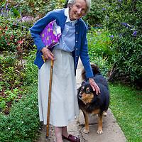 Dr. Hamlin and her dog Titi