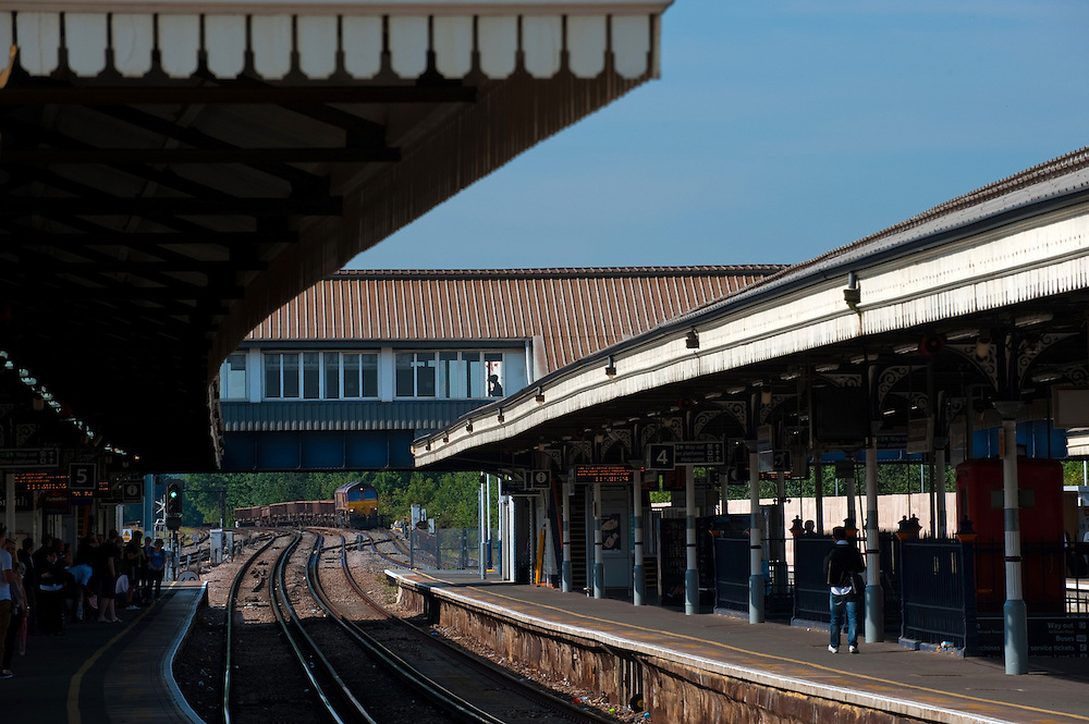 Clapham Junction Railway Station in London, where JK Rowling had the idea to write Harry Potter, UK.