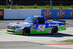 March 23, 2019 - Martinsville, VA, U.S. - MARTINSVILLE, VA - MARCH 23:   #54: David Gilliland, DGR-Crosley, Toyota Tundra Fred's during qualifying for the NASCAR Gander Outdoors Truck Series TruNorth Global 250 race on March 23, 2019 at the Martinsville Speedway in Martinsville, VA.  (Photo by David J. Griffin/Icon Sportswire) (Credit Image: © David J. Griffin/Icon SMI via ZUMA Press)