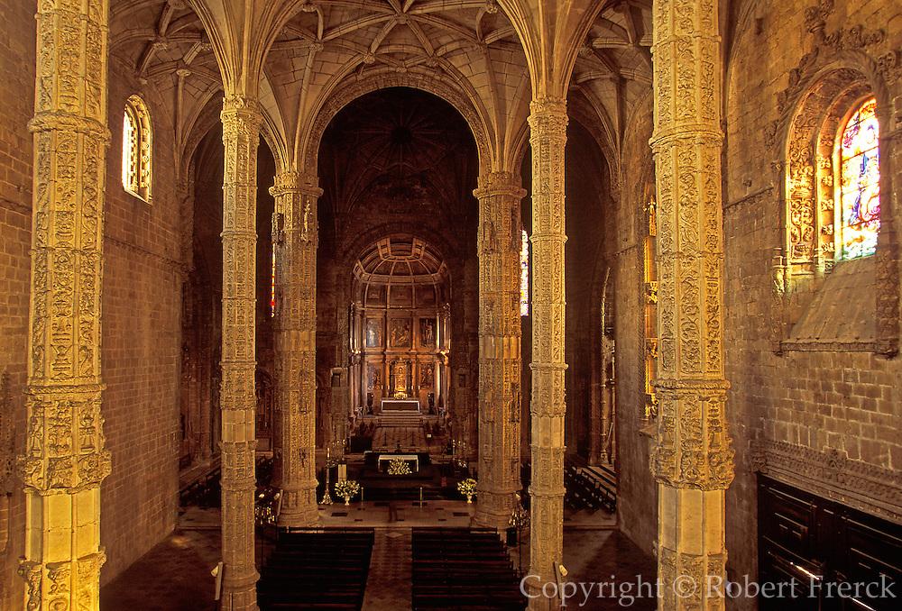 PORTUGAL, LISBON 'Manueline' Mosteiro dos Jeronimos