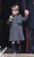 Prince George & Princess Charlotte 1st Xmas Service 2
