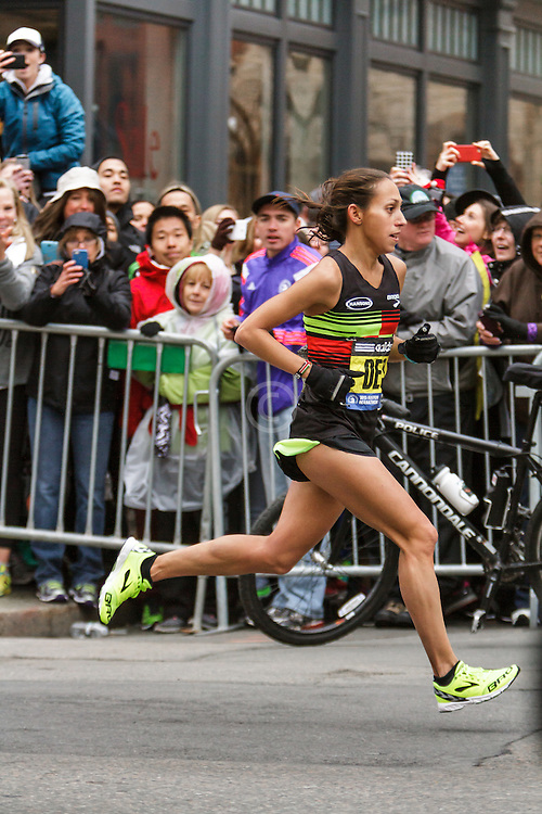 Boston Marathon: Desiree (Davila) Linden, USA