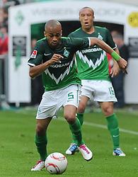 07.05.2011, Weserstadion, Bremen, GER, 1.FBL, Werder Bremen vs Borussia Dortmund, im Bild Wesley (Bremen #5)   EXPA Pictures © 2011, PhotoCredit: EXPA/ nph/  Frisch       ****** out of GER / SWE / CRO  / BEL ******