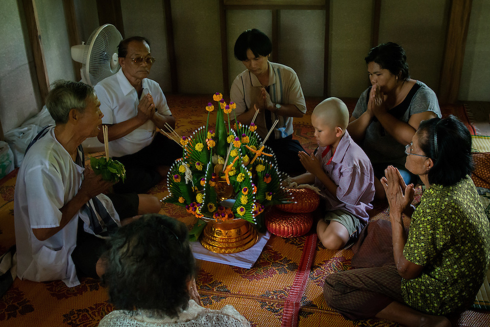 Khon Juk for our neighbor Kim - The Coming of Age Ceremony in Nakhon Nayok, Thailand