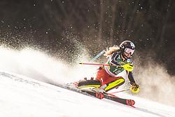 Erin Mielzynski (CAN) during the Ladies' Slalom at 56th Golden Fox event at Audi FIS Ski World Cup 2019/20, on February 16, 2020 in Podkoren, Kranjska Gora, Slovenia. Photo by Matic Ritonja / Sportida