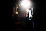 Andres Iniesta from Spain of FC Barcelona portrait during the Andres Iniesta farewell at the end of the La Liga football match between FC Barcelona and Real Sociedad on May 20, 2018 at Camp Nou stadium in Barcelona, Spain - Photo Xavier Bonilla / Spain ProSportsImages / DPPI / ProSportsImages / DPPI