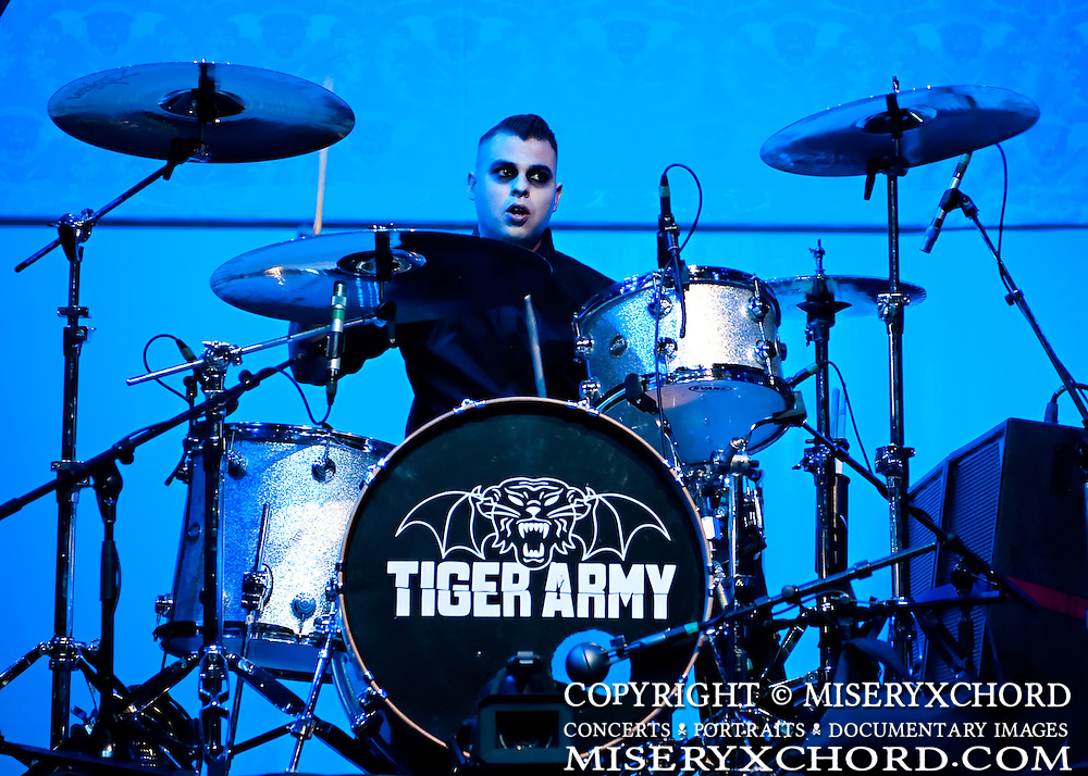 Tiger Army performs at the first annual OCtoberflame Festival in Anaheim California USA