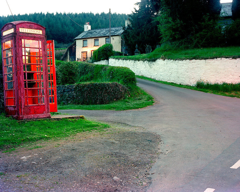 This kiosk is in: Pontfaen, Brecon, Powys, Wales.<br />