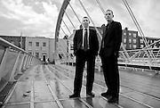Graeme Conkie & Daragh Mac Loughlin founders of LetsHost.ie, Dublin, November 2009.
