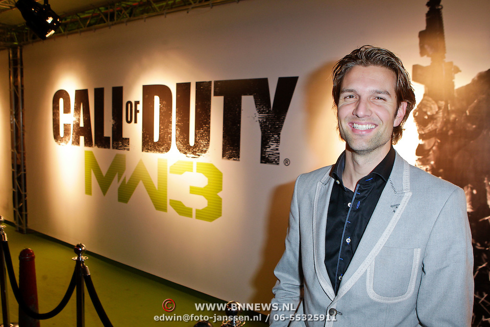 NLD/Amsterdam/20111107- Lancering Call of Duty MW3, Bas Muijs