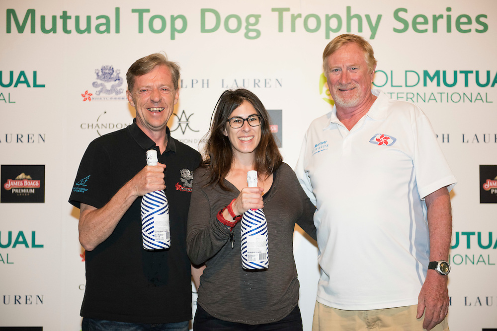 Participants attend Prize Giving after the Old Mutual Top Dog Trophy Series 2015-2016 on November 21 2015 in Hong Kong, China. Photo by Xaume Olleros