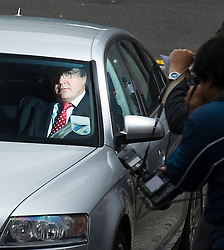 © licensed to London News Pictures. 12/07/2011. London, UK. Former Deputy Assistant Commissioner of the Metropolital police Peter Clarke leaving Portcullis House in Westminster today (12/07/2011) after giving evidence to the Commons Home Affairs Committee on phone hacking. Photo credit should read Ben Cawthra/LNP