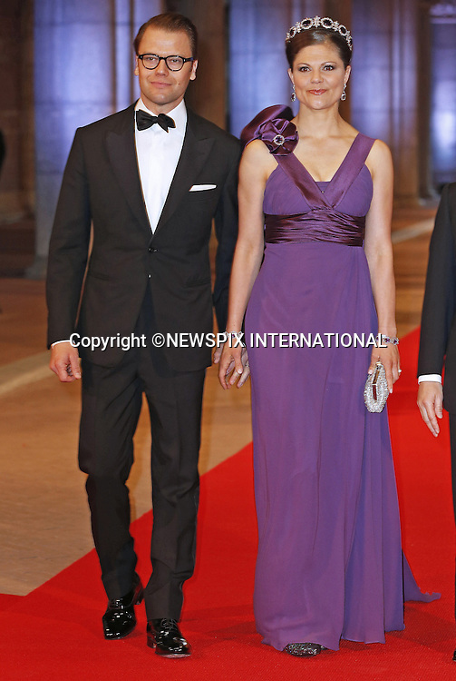 """CROWN PRINCESS VICTORIA AND PRINCE DANIEL OF SWEDEN.attend the gala farewell dinner for Queen Beatrix at the Rijksmuseum in Amsterdam, The Netherlands_April 29, 2013..Crown Prince Willem-Alexander and Crown Princess Maxima will be proclaimed King and Queen  of The Netherlands on the abdication of Queen Beatrix on 30th April 2013..Mandatory Credit Photos: ©NEWSPIX INTERNATIONAL..**ALL FEES PAYABLE TO: """"NEWSPIX INTERNATIONAL""""**..PHOTO CREDIT MANDATORY!!: NEWSPIX INTERNATIONAL(Failure to credit will incur a surcharge of 100% of reproduction fees)..IMMEDIATE CONFIRMATION OF USAGE REQUIRED:.Newspix International, 31 Chinnery Hill, Bishop's Stortford, ENGLAND CM23 3PS.Tel:+441279 324672  ; Fax: +441279656877.Mobile:  0777568 1153.e-mail: info@newspixinternational.co.uk"""