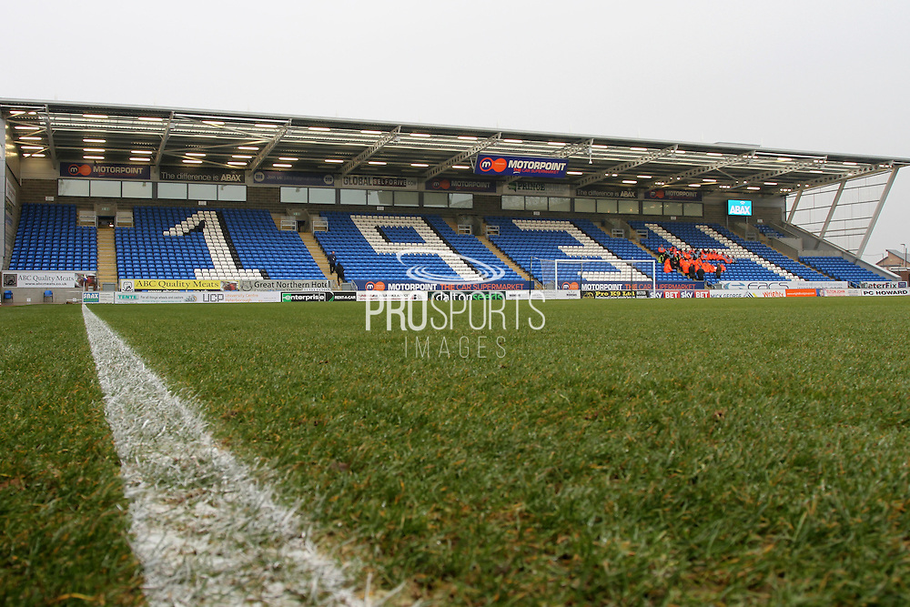 The stadium before the EFL Sky Bet League 1 match between Peterborough United and Sheffield Utd at London Road, Peterborough, England on 11 February 2017. Photo by Nigel Cole.