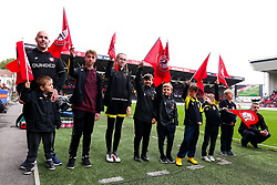 Flag Bearers - Rogan/JMP - 05/10/2019 - Ashton Gate Stadium - Bristol, England - Bristol City v Reading - Sky Bet Championship.