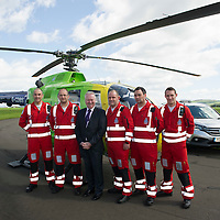 Scotland's Charity Air Ambulance (SCAA) launches from Perth Airport....22.05.13<br /> From left, John Pritchard, Andy Walkerm Alex Neil, Bruce Rumgay, Alex Holden and Wayne Auten.<br /> Picture by Graeme Hart.<br /> Copyright Perthshire Picture Agency<br /> Tel: 01738 623350  Mobile: 07990 594431