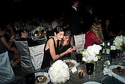 HANE BENE; RINKU, The Global launch of the 2012 Pirelli Calendar by Mario Sorrenti.  Dinner at the Park Avenue Armory. Manhattan. 6 December 2011.