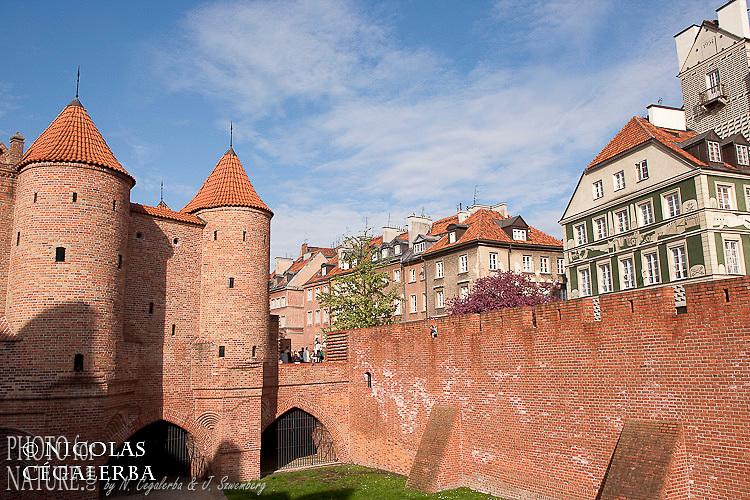 Remparts de la vielle ville de Varsovie
