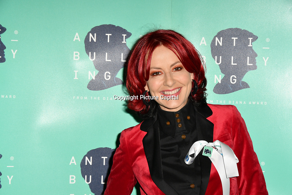 Carrie Grant attend The Diana Award anti-bullying week at Alexandra Palace on 12 November 2018, London, UK.