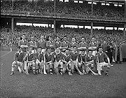12/05/1957<br /> 05/12/1957<br /> 12 May 1957<br /> National Hurling League Finals: Meath v Kerry at Croke Park, Dublin.