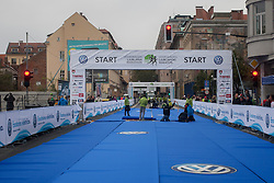Start line during 18th Ljubljana Marathon 2014 on October 26, 2014 in Ljubljana, Slovenia. Photo by Urban Urbanc / Sportida.com