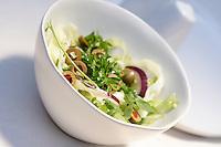 Studio shot of spring salad