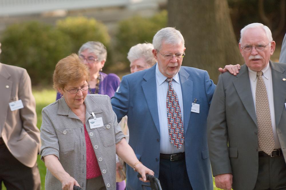 18661Golden Reunion, class of 1958: Class Photograph...Betsy Braun, Dean Braun
