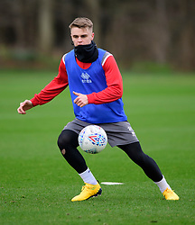 Lincoln City's Jake Hesketh during a training session at the BMW Soper of Lincoln Elite Performance Centre, Scampton, Lincolnshire.<br /> <br /> Picture: Chris Vaughan Photography for Lincoln City FC<br /> Date: February 4, 2020