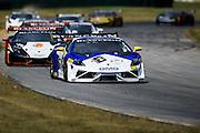 October 3-5, 2013. Lamborghini Super Trofeo - Virginia International Raceway. Start of race 1.