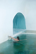 Therma Spa, Gera Bay hot springs, Lesbos, Greece