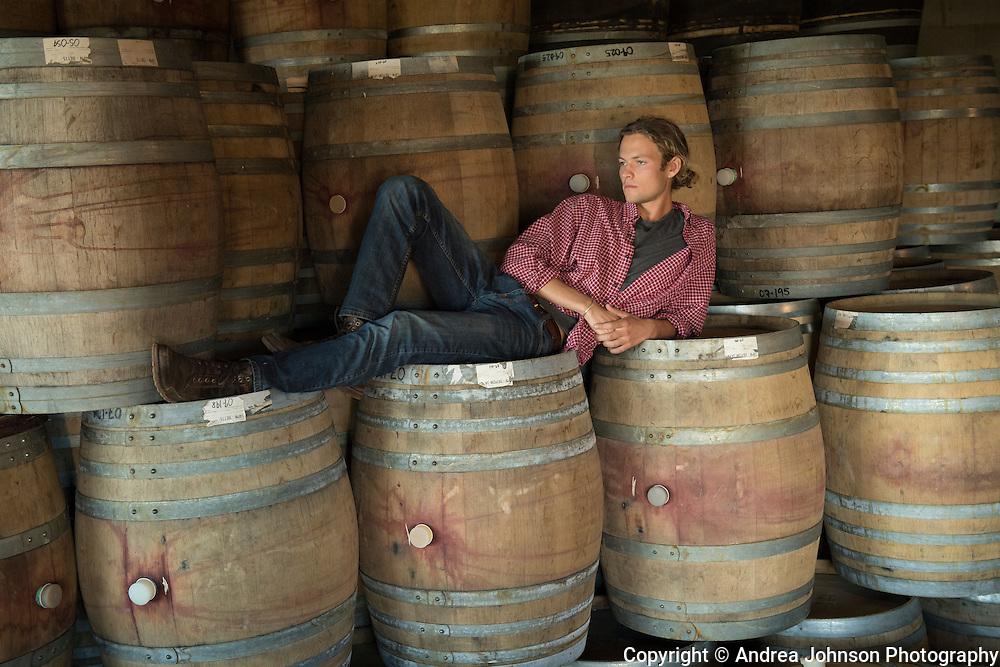 Pascal Brooks, Brook portraits, Eola-Amity Hills, Willamette Valley, Oregon