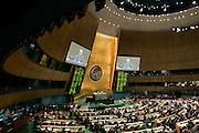 The General Assembly adopts a resolution endorsing the Report of the UN Fact-Finding Mission on the Gaza Conflict, which was led by Judge Richard Goldstone. The Report accuses both Israel and Palestinian militants of war crimes during the three-week conflict in December 2008-January 2009, and urges the international community to stop impunity for violations of international law. It was referred to the Assembly by the Human Rights Council.<br />