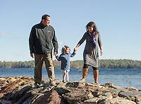 Buck family portrait session.  ©2015 Karen Bobotas Photographer