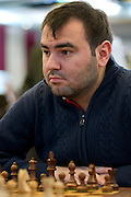 Shakhriyar Mamedyarov (Szachrijar Mamedjarow) from Azerbaijan during European Team Chess Championships 2013 at Novotel Hotel in Warsaw on November 12, 2013.<br /> <br /> Poland, Warsaw, November 12, 2013<br /> <br /> Picture also available in RAW (NEF) or TIFF format on special request.<br /> <br /> For editorial use only. Any commercial or promotional use requires permission.<br /> <br /> Mandatory credit:<br /> Photo by &copy; Adam Nurkiewicz / Mediasport