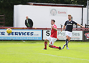 Rory Loy fires in shot - Brechin City v Dundee, pre-season friendly at Starks Park<br /> <br />  - &copy; David Young - www.davidyoungphoto.co.uk - email: davidyoungphoto@gmail.com
