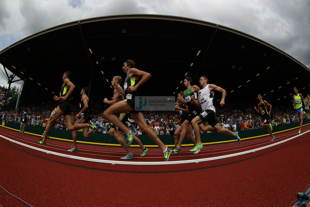 during day 8 of the U.S. Olympic Trials for Track & Field at Hayward Field in Eugene, Oregon, USA 29 Jun 2012..(Jed Jacobsohn/for The New York Times)....