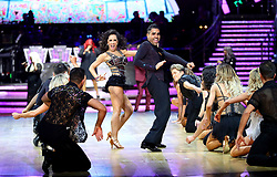 Dr Ranj Singh and Janette Manrara perform during a photocall before the opening night of the Strictly Come Dancing Tour 2019 at the Arena Birmingham, in Birmingham. Picture date: Thursday January 17, 2019. Photo credit should read: Aaron Chown/PA Wire