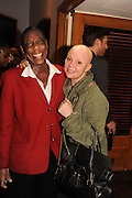 CHRISSIE KIYOU; GAIL PORTER, The VIP night for Cirque Du Soleil: Quidam at  the Royal Albert Hall, London. 7 January 2013