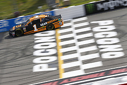 June 1, 2018 - Long Pond, Pennsylvania, United States of America - Jamie McMurray (1) brings his car down the frontstretch during qualifying for the Pocono 400 at Pocono Raceway in Long Pond, Pennsylvania. (Credit Image: © Chris Owens Asp Inc/ASP via ZUMA Wire)