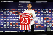 Kieran Trippier during his presentation as new player of Atletico Madrid on July 18, 2019 at Wanda Metropolitano stadium in Madrid, Spain - Photo Oscar J Barroso / Spain ProSportsImages / DPPI / ProSportsImages / DPPI