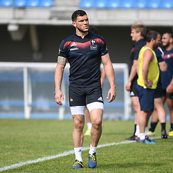 Remy Grosso of France during the French Rugby Training Session on May 9, 2018 in Marcoussis, France. (Photo by Anthony Dibon/Icon Sport)