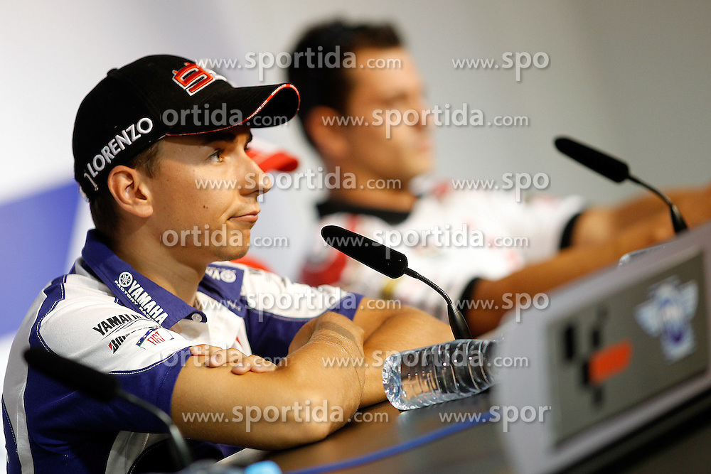 12.08.2010, Brünn, CKZ, MotoGP, Brno, im Bild Jorge Lorenzo - Fiat Yamaha team .. EXPA Pictures © 2010, PhotoCredit: EXPA/ InsideFoto/ Semedia +++++ ATTENTION - FOR AUSTRIA AND SLOVENIA CLIENT ONLY +++++