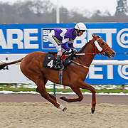 It's Only Business and Joe Fanning winning the 2.30 race