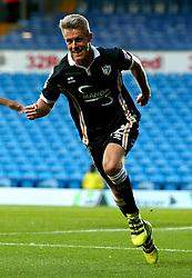 Michael Tonge of Port Vale celebrates scoring a goal to make it 1-1 - Mandatory by-line: Robbie Stephenson/JMP - 09/08/2017 - FOOTBALL - Elland Road - Leeds, England - Leeds United v Port Vale - Carabao Cup