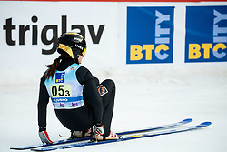 Sofia Tikhonova of Russia during Team Competition at Day 2 of World Cup Ski Jumping Ladies Ljubno 2019, on February 9, 2019 in Ljubno ob Savinji, Slovenia. Photo by Matic Ritonja / Sportida