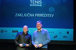 Slovenian Tennis personality of the year 2016 annual awards presented by Slovene Tennis Association Tenis Slovenija, on December 7, 2016 in Siti Teater, Ljubljana, Slovenia. Photo by Vid Ponikvar / Sportida